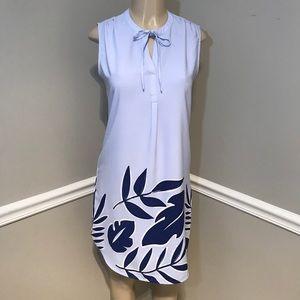 MERONA Blue & Periwinkle Sleeveless Dress Size S